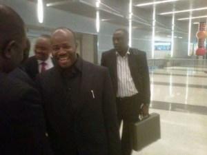 Photo: Senator Godswill Akpabio Back From London