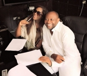 Photo: Tiwa Savage Re-news MTN Contract