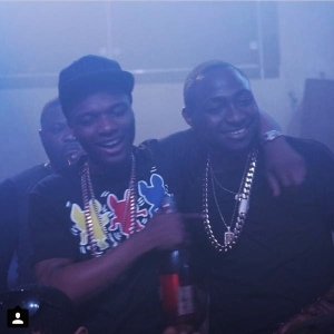 Photo: Wizkid And Davido Partied Together Last Night