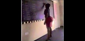Photo Of The Day: Imagine This Babe Been Your Teacher/Lecturer