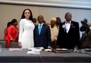 Photos: Adams Oshiomhole And His Wife, Iara, Shine At US Event