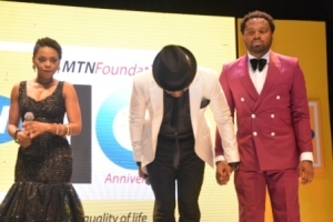 Photos: Chidinma And Banky W Perform At MTN 10th Anniversary Celebration