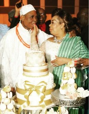 Photos: Esama Of Benin Kingdom, Chief Igbinedion