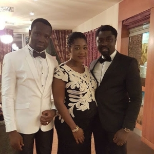 Photos: Heavily Pregnant Mercy Johnson Steps Out With Hubby In Dublin