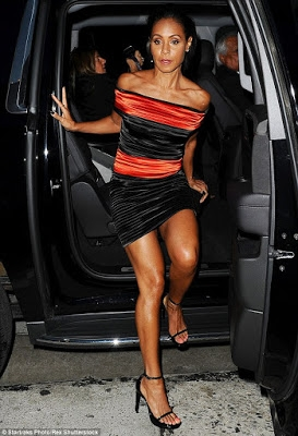Photos: Jada Pinkett Smith Steps Out In Sexy Outfit