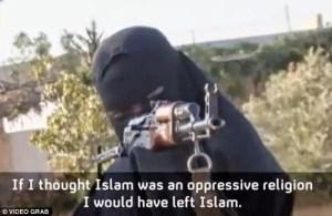 Photos: Meet Khadijah Dare, The First Nigerian Female ISIS Terrorist