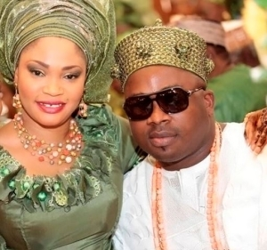 Photos: Meet The Youngest King In Lagos And His Beautiful Wife