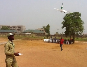 Photos: Meet The Youth Corper Who Built A Drone For Nigeria