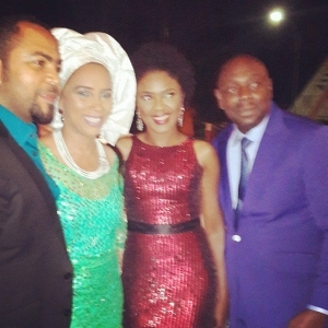 Photos: Nollywood Celebs Attend Independence Dinner At Aso Rock
