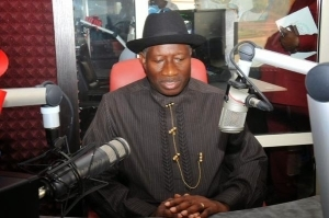 Photos From Jonathan's Commissioning Of Armed Forces Radio Station In Abuja