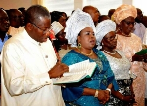 Photos From Pres. Jonathan, Wife, Mother and others In Celebration Of Mothers Day Yesterday