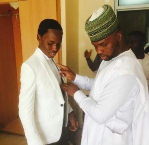 Photos Of Presidential Photographer Bayo Omboriowo At His Wedding Today