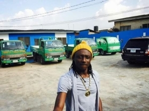 Photos of Terry G at his water factory