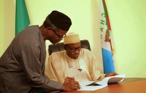 Picture Of President Elect With His VP In Office This Morning