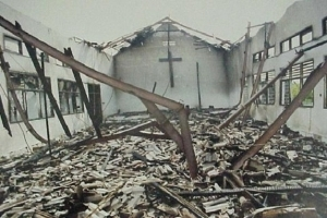 Police Arrest 15 Youths In Kano Over Burning Of Baptist Church