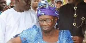 Pres. Jonathan's Mother Hails JTF For Donating Borehole To Bayelsa Community