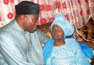 Pres. Jonathan wishes Mrs H.I.D Awolowo happy 99th birthday celebrations