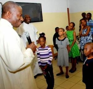 President Jonathan Celebrates Easter Sunday At Aso Rock