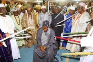 President Jonathan visits the Ooni of Ife