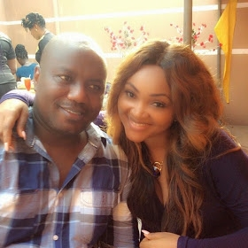 Proud Wife! Mercy Aigbe Gentry Shows Off Husband