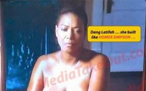 Queen Latifah Bares Breast In New Movie