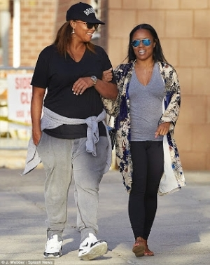 Queen Latifah Spotted Strolling With Her Partner In NYC