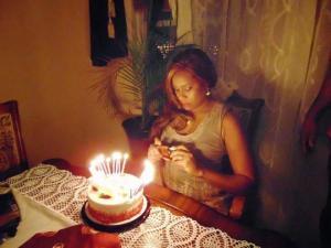 Regina Askia celebrates 47th birthday with family