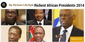 Richestlifestyle.com Has Since removed Nigerian President from tgeir African 10 richest president