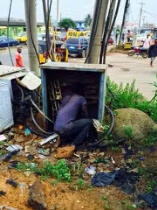 Robber Got Electrocuted While Trying To Steal Cable