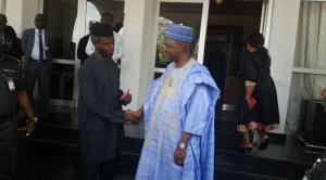 Sambo Hands Over Aguda House To Prof. Osinbajo