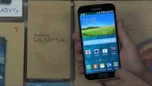 See Android L in action on a Samsung Galaxy S5