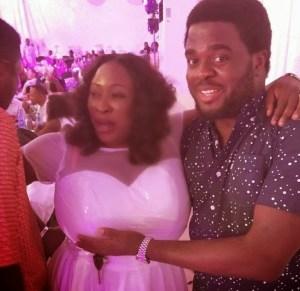 See Aremu Afolayan Grab Yoruba Actress Big Chest at a Party