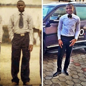 See Epic Throwback Photo Of Iyanya's Manager Ubi Franklin'