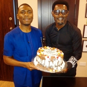 See Gifts Comedian AY Gets From Zenith, GTbank, TREM Church & Ubi Franklin As He Turns 37 Today