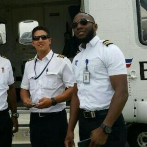 See Photo Of The Pilot & Co-Pilot That Died In The Helicopter That Crashes Into The Lagos Lagoon