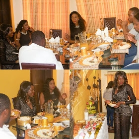 See Photos from Chika Ike's Birthday Parri With Fam And Fans