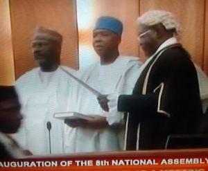 See What Senate President, Bukola Saraki Said During His Acceptance Speech Today