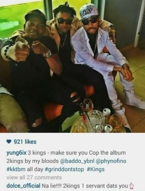 See What This Fan Said To Yung6ix..Lol