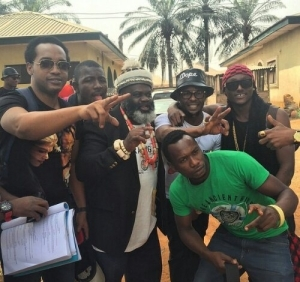 Singer Terry G makes First Appeareance as A Gangstar in a Nollywood Movie (See Photos)