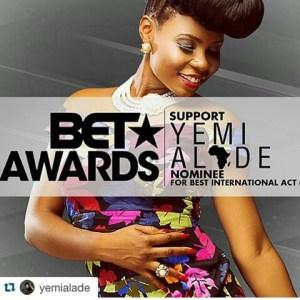 Singer Yemi Alade Blasts BET Award For 'Humiliating' Africa, Says Stonebwoy Doesn