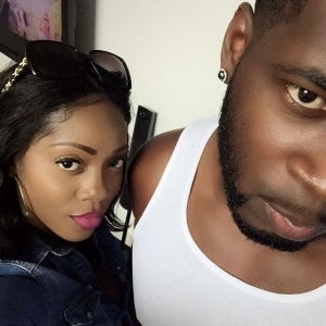 So Cute!! Tiwa Savage And Husband, Teebillz Take Adorable Selfie