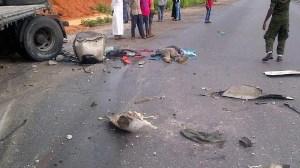So Sad!! 30 People Die In Kogi Road Accident Today