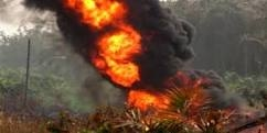 So Sad!! Over 100 Oil Pipeline Vandals Burnt To Death At Arepo, Near Lagos State