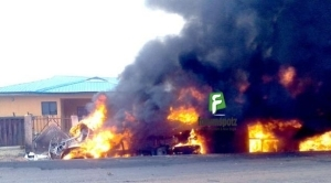 So Sad!! Tanker Fire Burns Teenagers Locked Up By Parents, Injured Others