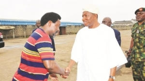 TB Joshua Tells Goodluck Jonathan Who Wins 2015 Election