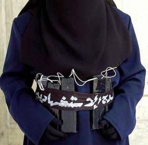 Teen girl burnt to death after she was thought to be a suicide bomber