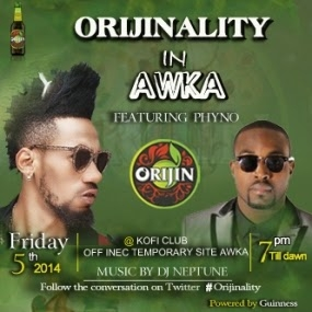 The Orijin train comes to party with Phyno & Burna boy in Calabar, Awka!