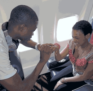 The true story behind Vector's 'proposal' to me on a plane – Chidinma