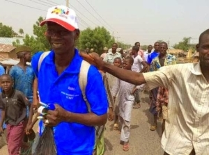 Three Men Who Trekked In Honour Of Atiku Went Stranded In Yola; Searching Money To Come Back