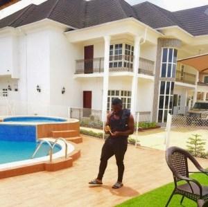 Timaya shows off his mansion